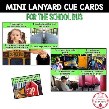 PBIS Rules Posters and Printables {for teaching expectations of the school bus}