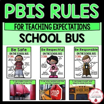 photo relating to Printable School Bus Rules identified as PBIS Tips Posters and Printables for education specifications of the college bus