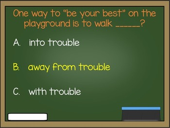 PBIS Rules Review Game