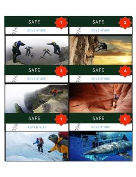 PBIS SAFE 'GAME CARDS'