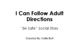 PBIS School Expectations Social Story: I Can Follow Adult Directions