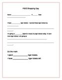 PBIS Shopping Questionnaire/Rewards