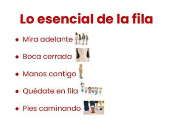 PBIS Signs (English / Spanish)