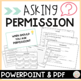 PBIS Social Skill Activities for Asking Permission
