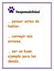 PBIS Spanish I can statements-paw prints