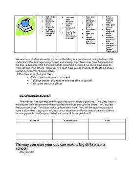 PBIS Study Activity Packet