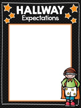 PBIS Super STAR Theme Posters EDITABLE