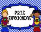 PBIS Superhero School Expectation Posters