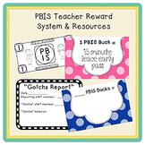 PBIS | Teacher Reward System & Resources