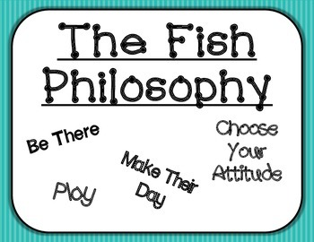 PBIS - The Fish Philosophy Posters