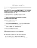 PBIS Tier II Intervention CICO (Check-In/Check-Out) PACKET