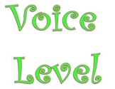PBIS Voice Level Signs