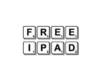 PBIS Whole Class Rewards - Scrabble Letters PDF