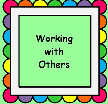 PBIS Working with Others