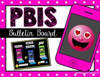 PBIS cell phone bulletin board