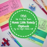 PBIS for the Art Room: Mona Lisa Ready Flip Book