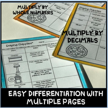 PBL Math 5th Grade Worksheets Decimal Addition and Subtraction