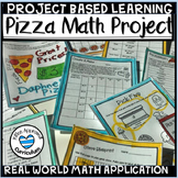 Project Based Learning Distance Learning Math PBL Pizza Fractions