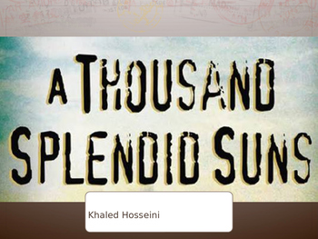 PBL A Thousand Splendid Suns