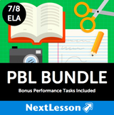 PBL Bundle (Gr 7/8 - ELA) - In Collaboration with A.J. Juliani - 27 Projects!