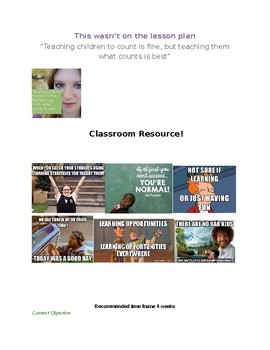 PBL Full Unit Outline and student playlist in 1!