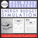 PBL Maker Challenge: Energy Budget Digital Simulation