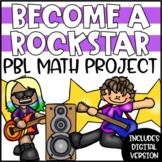 PBL Math Enrichment Project | Be a Rockstar Project Based