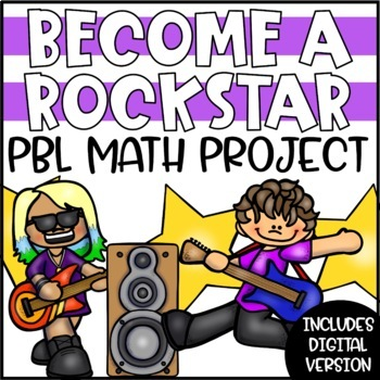 PBL Math Enrichment Project | Rockstar Project Based Learning