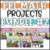 PBL Math Enrichment Projects - Bundle #2