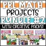 PBL Math Enrichment Projects - Math & Writing Bundle #2
