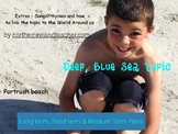 PBL Play based Learning Planning - Deep,Blue Sea - long, medium & short term