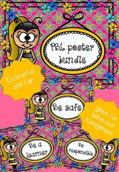 PBL (Positive Behaviour for Learning) poster bundle