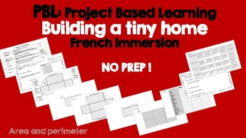 PBL Project Based Learning for Math - Building a tiny home (Perimeter and Area)