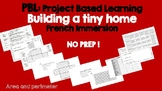 PBL Project Based Learning for Math - Building a tiny home