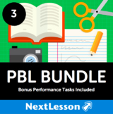PBL Bundle (Grade 3) - In Collaboration with A.J. Juliani - 19 Projects!