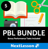 PBL Bundle (Grade 5) - In Collaboration with A.J. Juliani - 26 Projects!