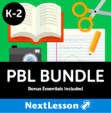 PBL Bundle (Grades K-2) - In Collaboration with A.J. Juliani - 26 Projects!