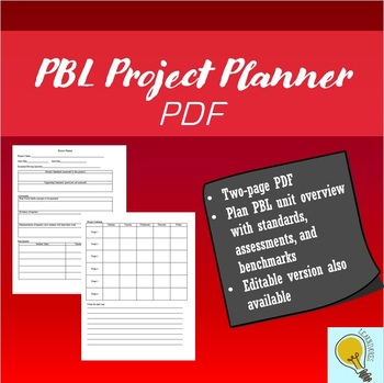 PBL Project Planner