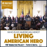 US History PBL Project Who's My American Hero?