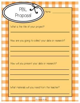 PBL Proposal