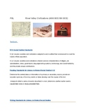 PBL River Valley Civilizations Global History (Project Bas
