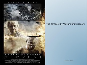 PBL: The Tempest by William Shakespeare