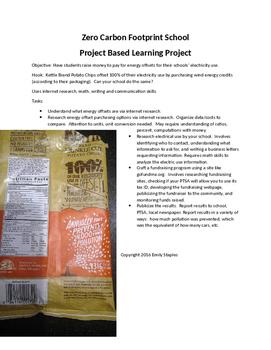 PBL: Zero Carbon Footprint School