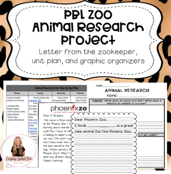 PBL Zoo Animal Research Project