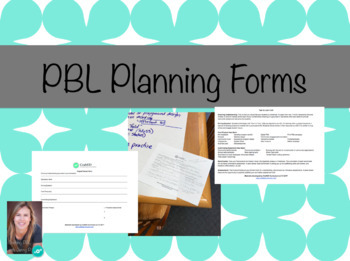 Project Based Learning (PBL, project) planning form