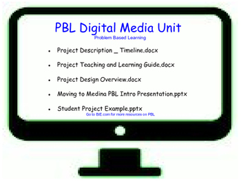 PBL in Digital Media