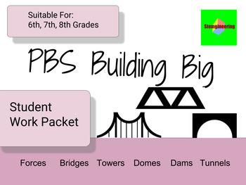 PBS STEM Building Big Website Worksheet Work Packet