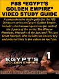 "PBS ""Egypt's Golden Empire"" Video Study Guide"