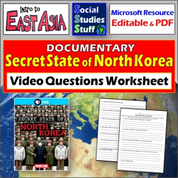 "PBS Frontline ""Secret State of North Korea""  Video Questions / Guide"