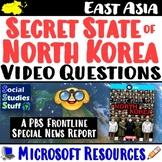 Secret State of North Korea : PBS Frontline  ~ Video Questions Worksheet ~